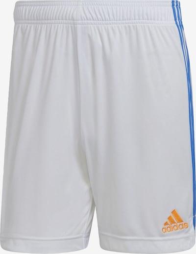 ADIDAS PERFORMANCE Shorts 'Real Madrid 21/22' in blau / goldgelb / rot / weiß, Produktansicht