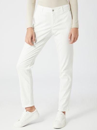 TAIFUN Pantalon chino en blanc cassé, Vue avec modèle
