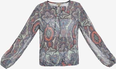 usha FESTIVAL Bluse in hellblau / mischfarben, Produktansicht
