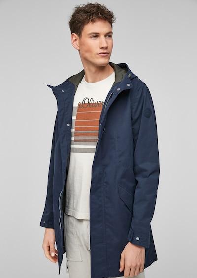s.Oliver Tussenjas in de kleur Donkerblauw, Modelweergave
