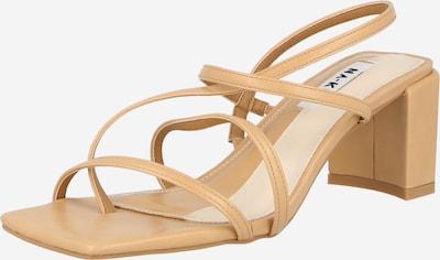 NA-KD Sandale in beige, Produktansicht