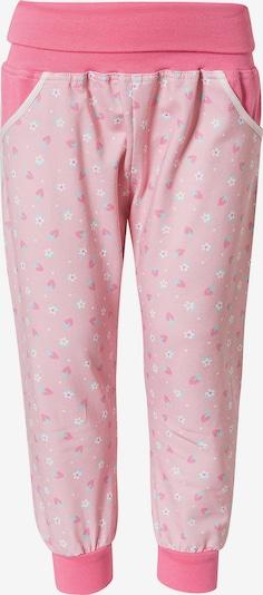 MAXIMO Hose in hellblau / pink / rosa / weiß, Produktansicht