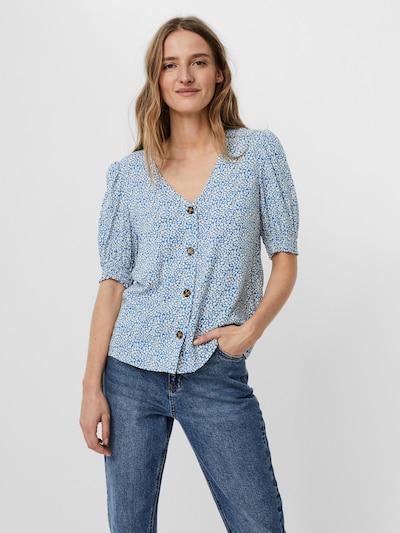 Camicia da donna 'Simply Easy' VERO MODA di colore blu chiaro / bianco, Visualizzazione modelli