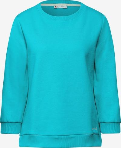 STREET ONE Sweatshirt in türkis, Produktansicht