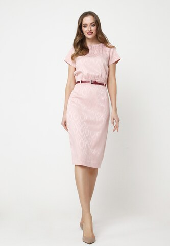 Madam-T Sheath Dress 'CALYPSO' in Pink