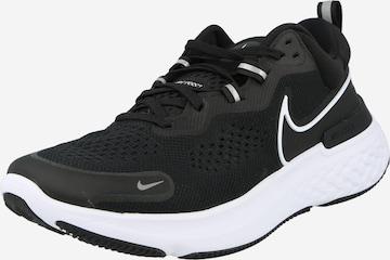 NIKE Παπούτσι για τρέξιμο 'React Miler 2' σε μαύρο