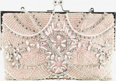 Forever New Clutch in One Size in pink / silber, Produktansicht