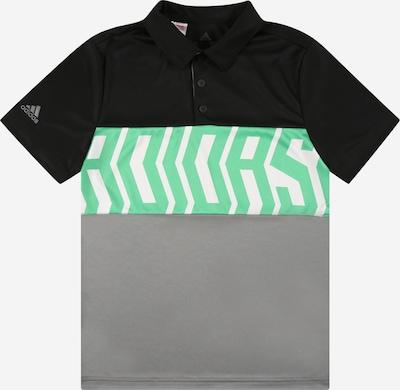 adidas Golf Functioneel shirt in de kleur Grijs / Mintgroen / Zwart / Wit, Productweergave