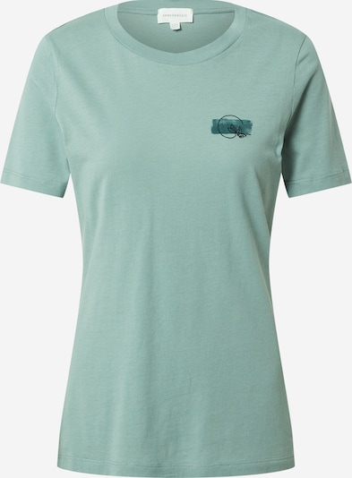 ARMEDANGELS T-Shirt 'LIDAA' in blau / mint / schwarz, Produktansicht