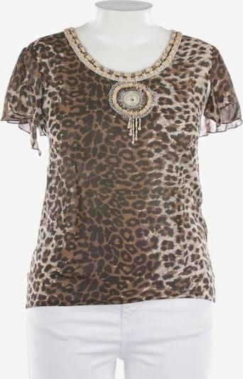 Amor & Psyche Blusenshirt in XL in braun, Produktansicht