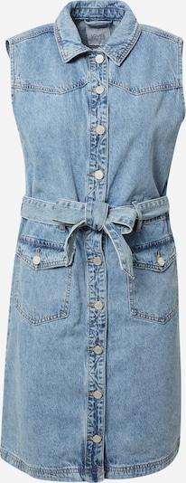 Rochie tip bluză Love & Divine pe albastru denim, Vizualizare produs