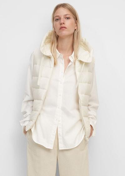 Marc O'Polo Weste in weiß, Modelansicht