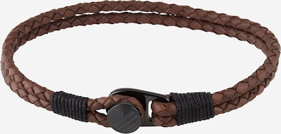 TOMMY HILFIGER Bracelet in brown / black, Item view