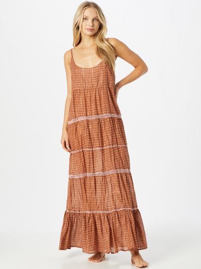 Free People Summer Dress in Caramel / Pastel pink, View model