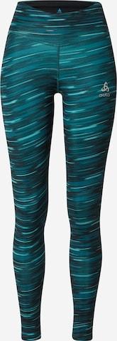Pantalon de sport ODLO en bleu