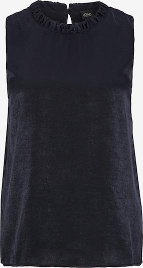 s.Oliver BLACK LABEL Bluse in nachtblau, Produktansicht