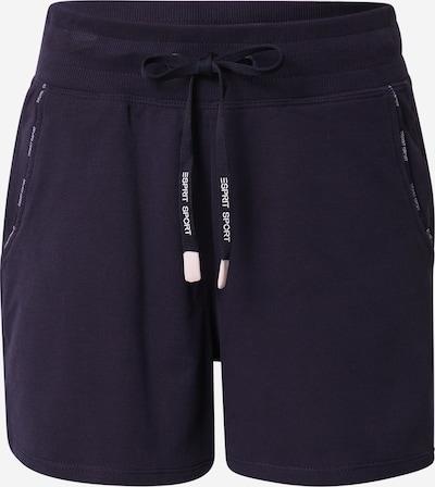 ESPRIT SPORT Športne hlače | mornarska barva, Prikaz izdelka