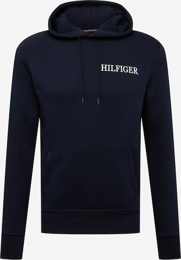 TOMMY HILFIGER Sweatshirt in Dark blue / White, Item view