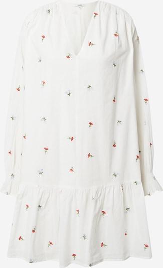 mbym Kleid 'Flossie' in creme / hellblau / grün / rot, Produktansicht