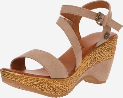 MUSTANG Sandale in beige, Produktansicht