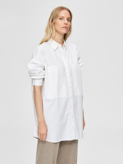 SELECTED FEMME Blouse 'Lali' in de kleur Offwhite, Modelweergave