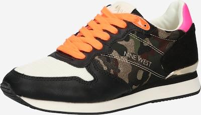 Nine West Sneaker in mischfarben / schwarz, Produktansicht