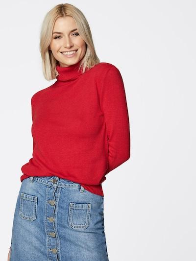 LeGer by Lena Gercke Rollkragen-Pullover 'Elin' in rot, Modelansicht