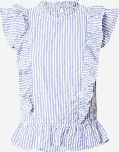 Pimkie Bluse 'STANANARAY' in hellblau / weiß, Produktansicht