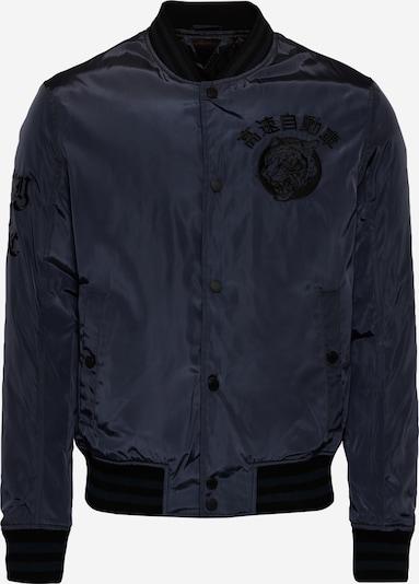 Superdry Tussenjas in de kleur Marine / Zwart, Productweergave