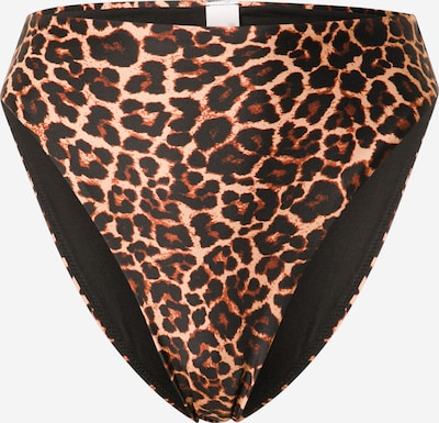 hunkemöller x NA-KD Braga de bikini en beige / marrón / negro, Vista del producto