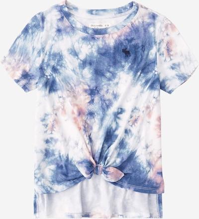 Abercrombie & Fitch Shirt 'Tie' in blau / pastellrot / weiß, Produktansicht