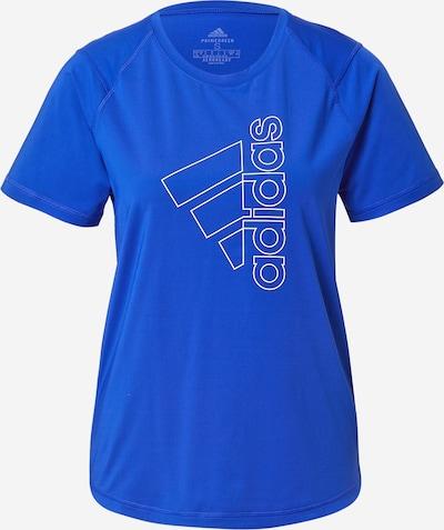 ADIDAS PERFORMANCE Tričko - modrá / biela, Produkt