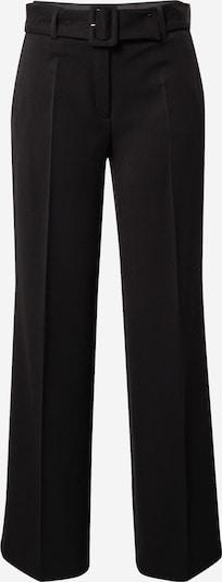 Pantaloni cu dungă s.Oliver BLACK LABEL pe negru, Vizualizare produs