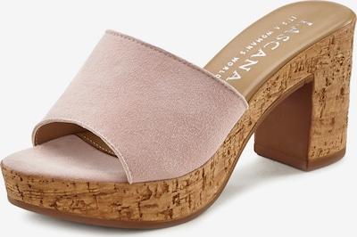 LASCANA Pantolette in rosé, Produktansicht