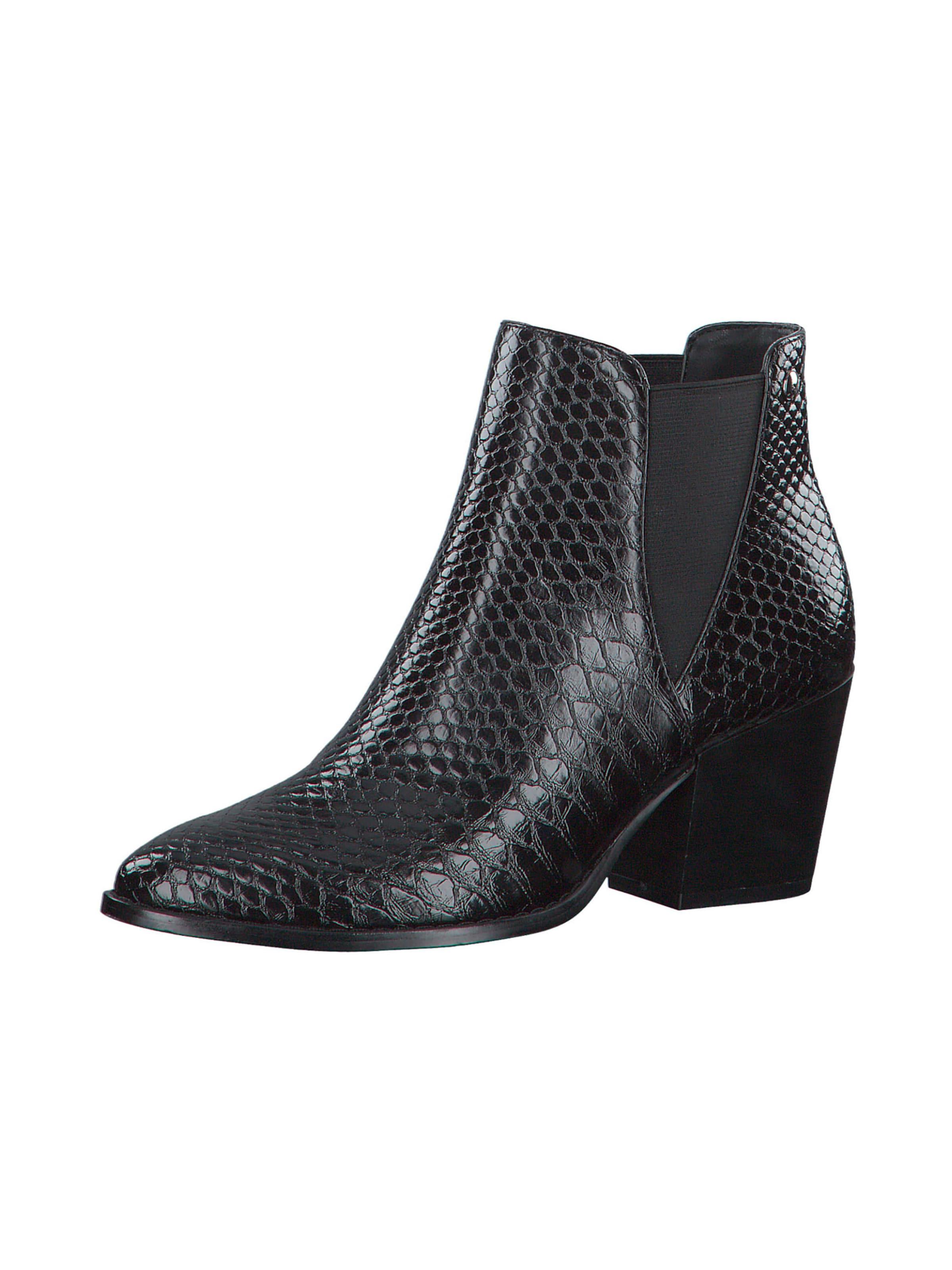 s.Oliver Chelsea boots i svart