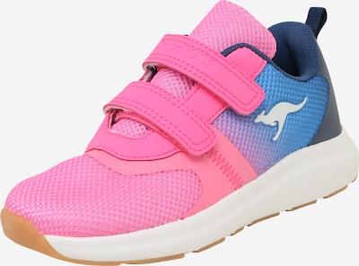KangaROOS Sneaker 'KB-AGIL V' in blau / navy / pink, Produktansicht