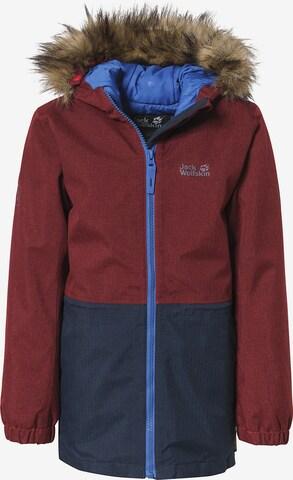 JACK WOLFSKIN Winter Jacket 'BANDAI' in Red
