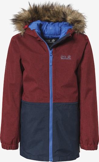 JACK WOLFSKIN Winter Jacket 'BANDAI' in Navy / Sky blue / Grey / Bordeaux, Item view