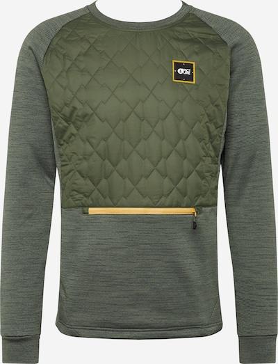 Picture Organic Clothing Športna majica 'JUNIP TECH' | oliva barva, Prikaz izdelka