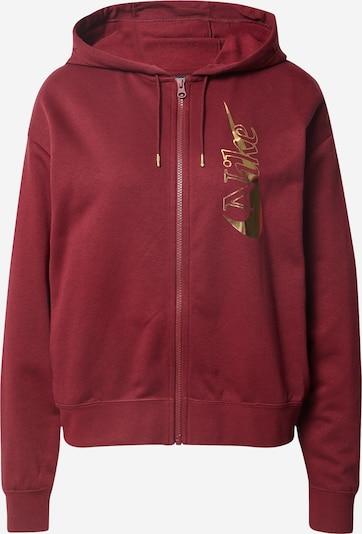 Nike Sportswear Sweatvest in de kleur Wijnrood, Productweergave