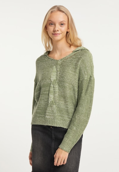 MYMO Sweater in Pastel green, View model