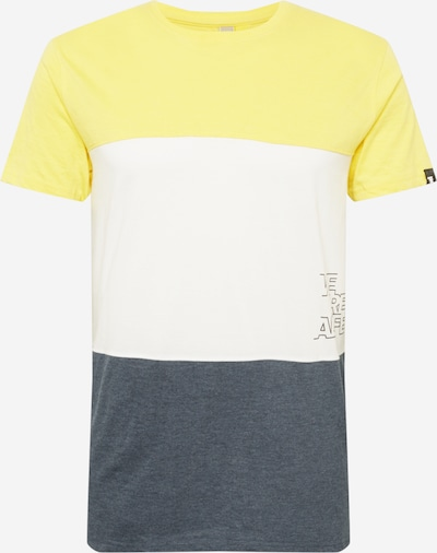 Tricou 'Ben' Alife and Kickin pe albastru marin / galben / alb, Vizualizare produs