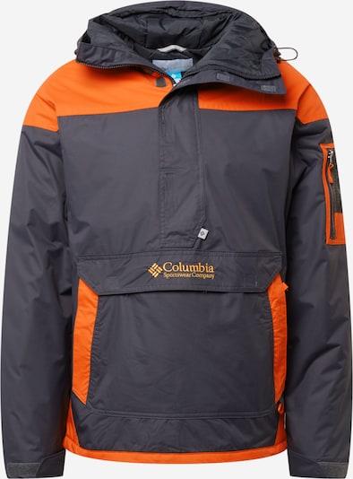 COLUMBIA Sportjacke 'Challenger PO-Ancient Fossil' in dunkelgrau / orange, Produktansicht