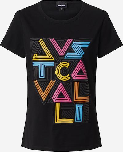 Just Cavalli Shirt in hellblau / gelb / dunkelorange / pink / schwarz, Produktansicht