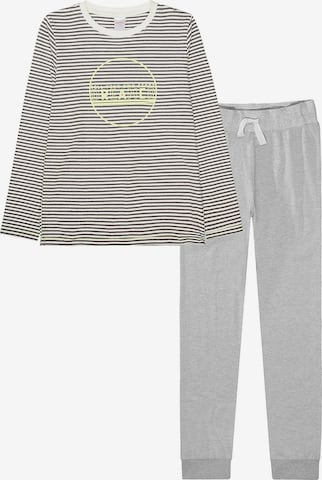 STACCATO Schlafanzug in Grau