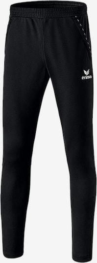 ERIMA Sporthose in schwarz / weiß, Produktansicht