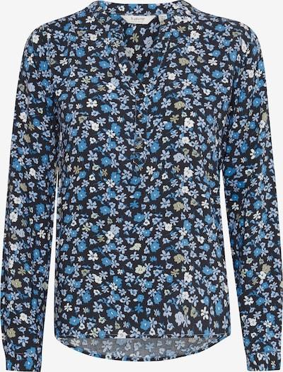 b.young Langarmbluse in blau, Produktansicht
