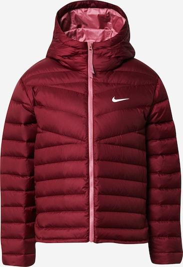Nike Sportswear Veste de sport en lie de vin, Vue avec produit
