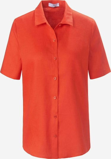 Peter Hahn Kurzarmbluse in rot, Produktansicht