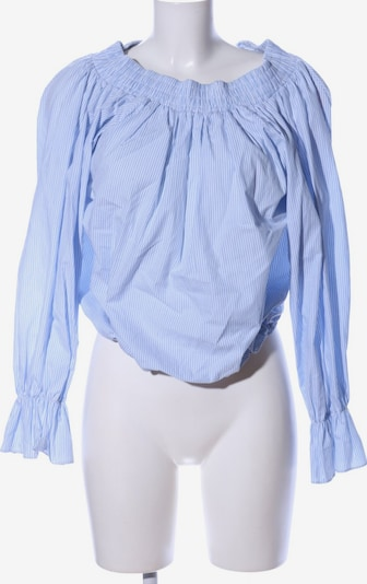 Storets Langarm-Bluse in S in blau / weiß, Produktansicht